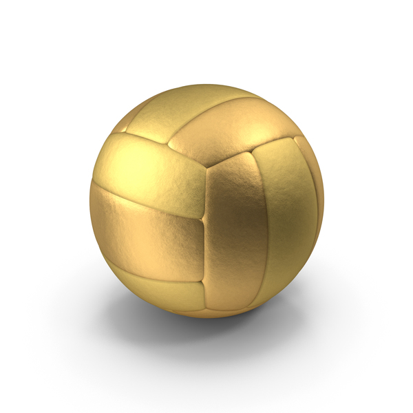 Golden VolleyBall PNG & PSD Images