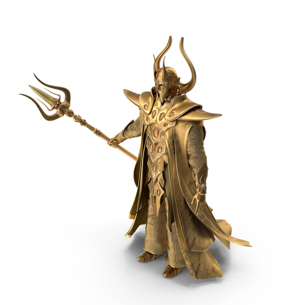 Hat: Golden Wizard PNG & PSD Images