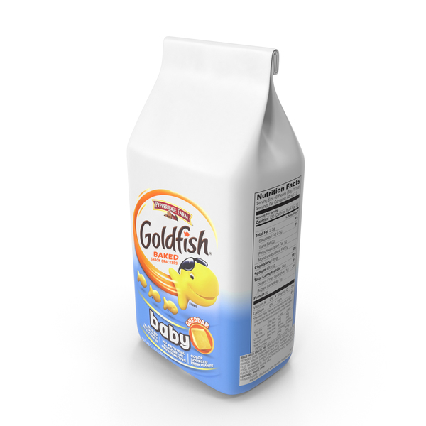 Goldfish Baby Cheddar Crackers PNG & PSD Images