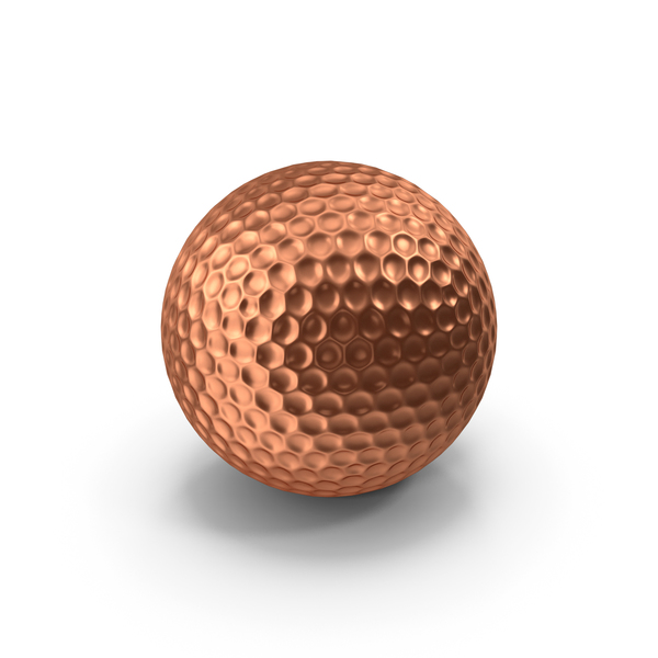 Golf Ball Bronze PNG & PSD Images