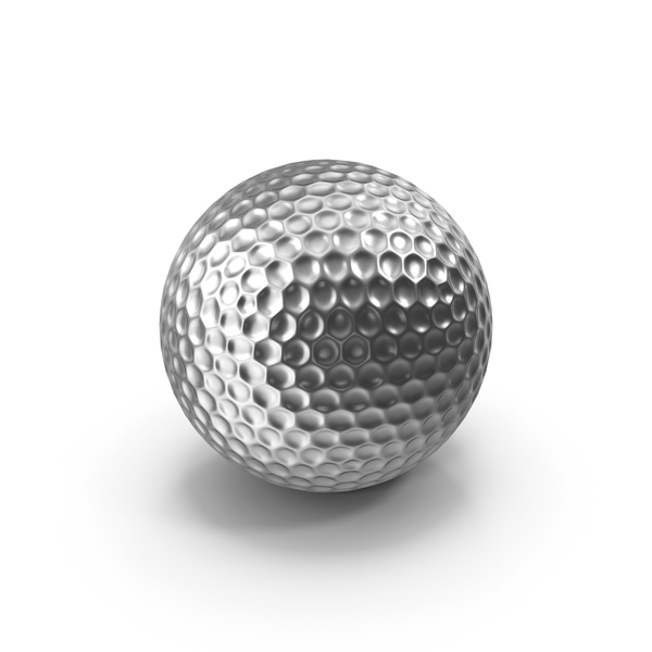 Golf Ball Silver PNG & PSD Images