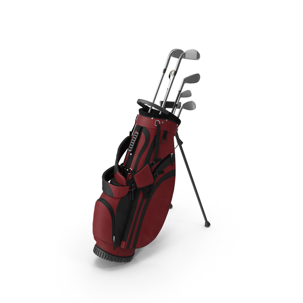 Golf Club Bag Object