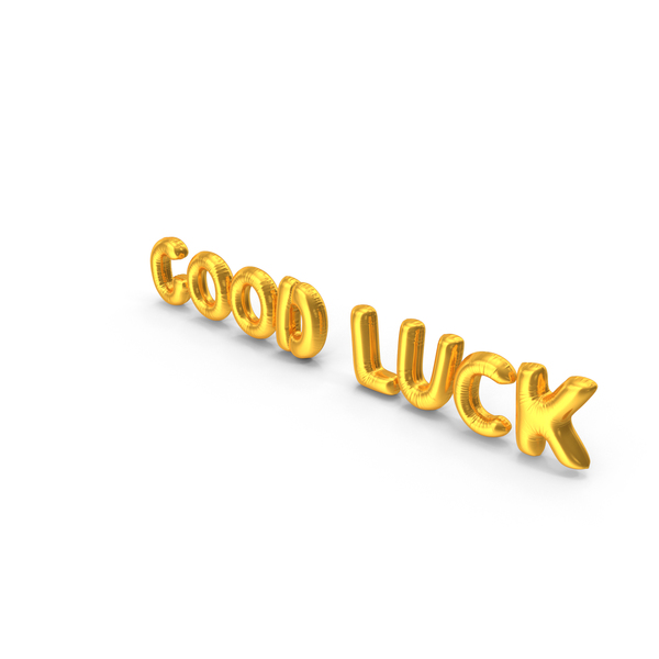 Good Luck Balloons PNG & PSD Images