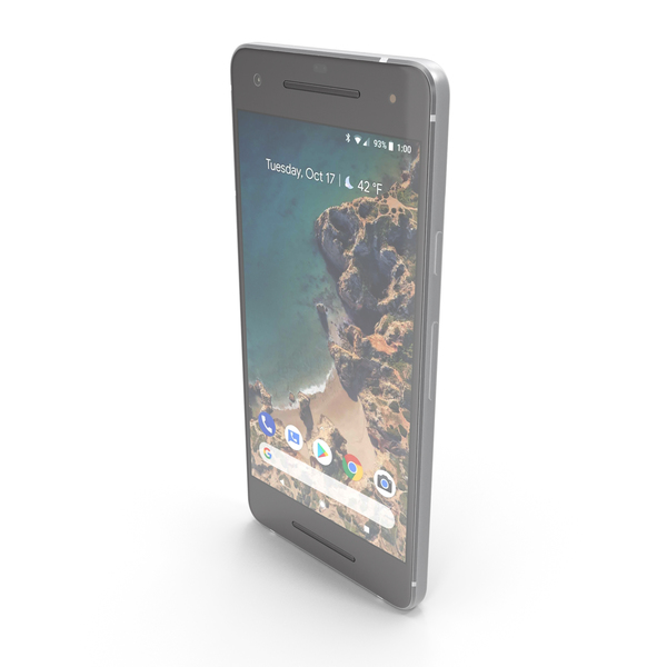 Google Pixel 2 Clearly White PNG & PSD Images