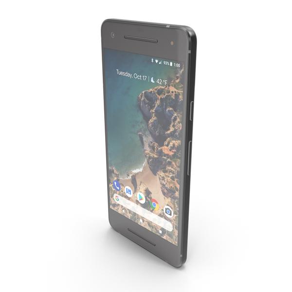 Google Pixel 2 Just Black PNG & PSD Images