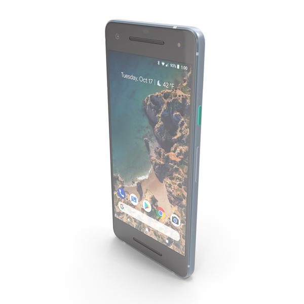 Google Pixel 2 Kinda Blue PNG & PSD Images