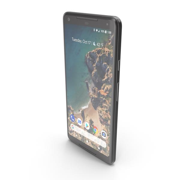 Google Pixel 2 XL Just Black PNG & PSD Images
