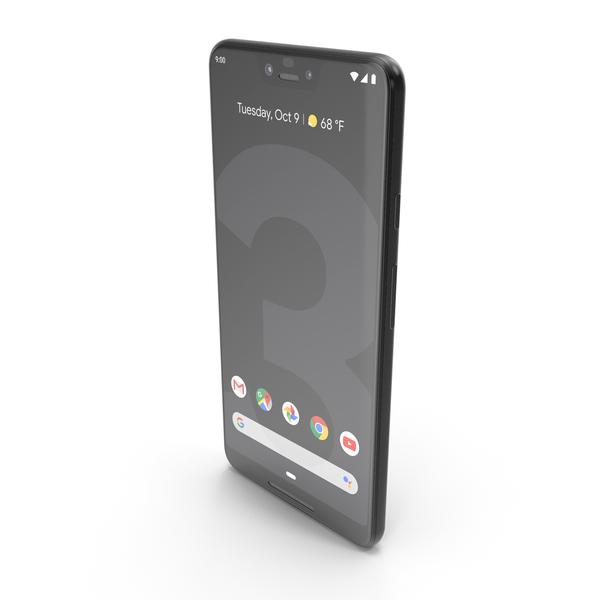 Google Pixel 3 XL Just Black PNG & PSD Images