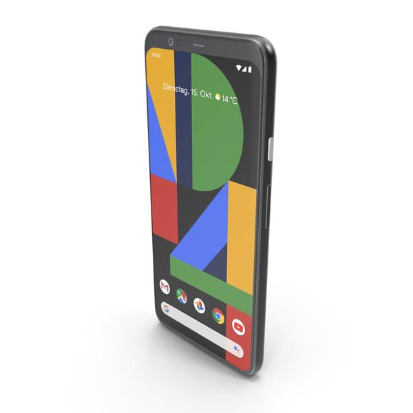 Google Pixel 4 Just Black PNG & PSD Images