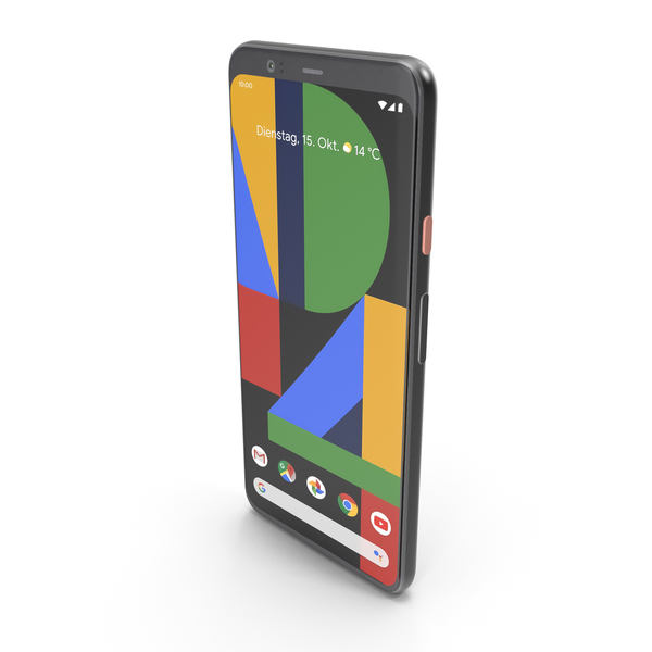 Google Pixel 4 XL Clearly White PNG & PSD Images