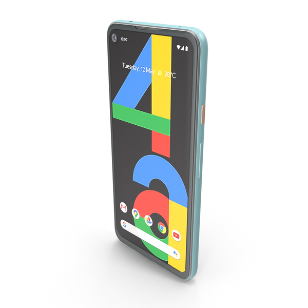 Google Pixel 4a Barely Blue PNG & PSD Images