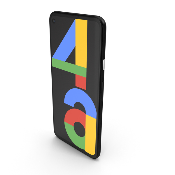 Google Pixel 4a Black PNG & PSD Images