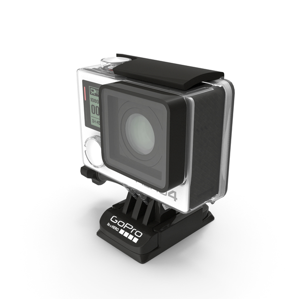 GoPro HERO 4 PNG & PSD Images