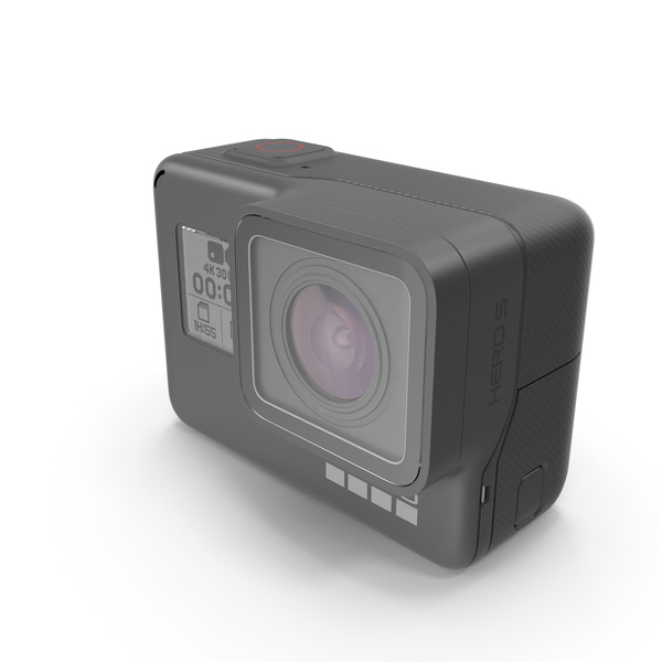 GoPro HERO 5 Black Camera PNG & PSD Images