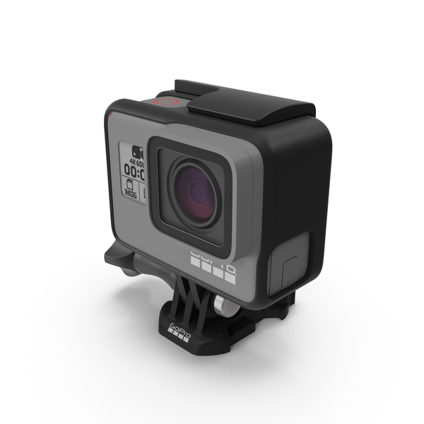 Digital Camera: GoPro Hero 6 PNG & PSD Images