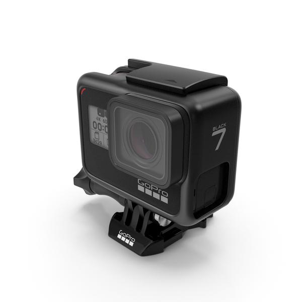 GoPro Hero 7 Black PNG & PSD Images