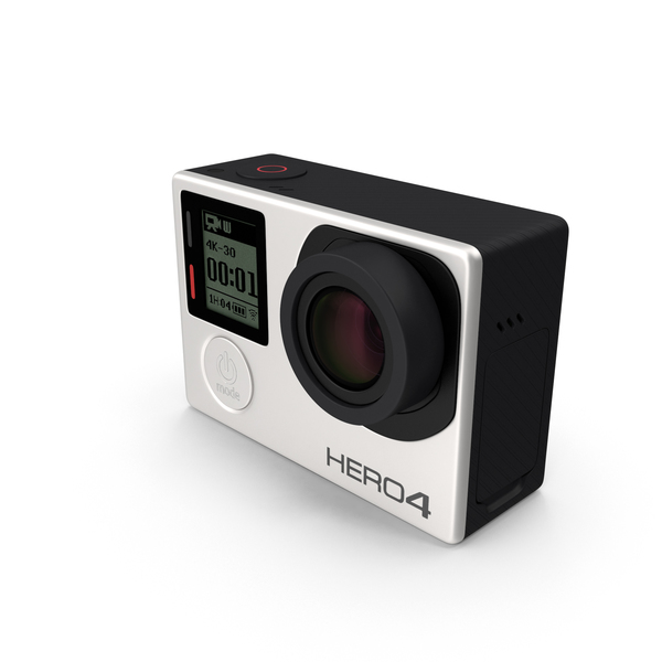 Camcorder: GoPro HERO4 Black Edition Camera PNG & PSD Images