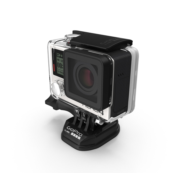 GoPro HERO4 Black Edition Camera PNG & PSD Images
