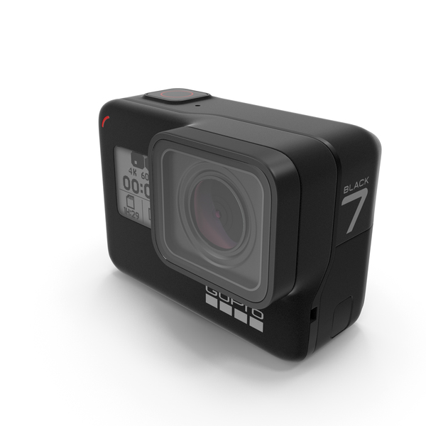 GoPro Hero7 Action Camera PNG & PSD Images
