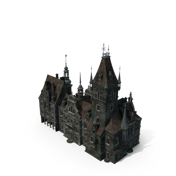 Gothic House PNG & PSD Images