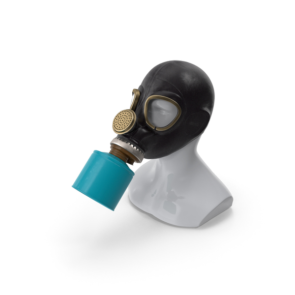 GP5 Lightweight Gas Mask PNG & PSD Images