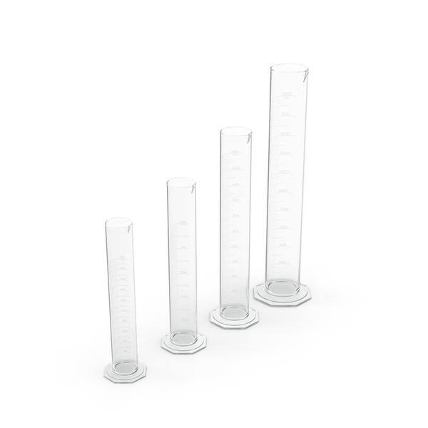 Graduated Cylinders PNG & PSD Images