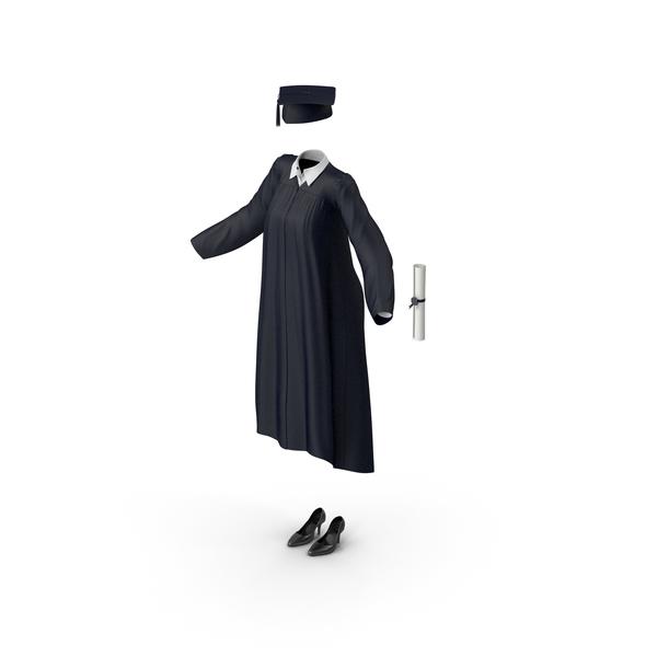 Graduation Gown PNG & PSD Images