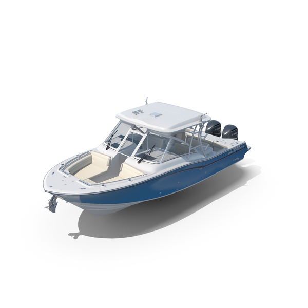 Grady White Freedom 325 Dual Consoles Fishing Boat PNG & PSD Images