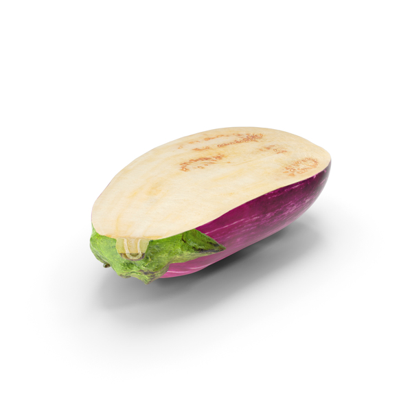 Graffiti Eggplant Cut PNG & PSD Images