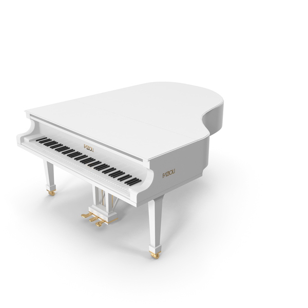 Grand Piano White PNG & PSD Images