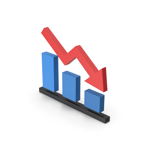 Line: Graph Chart Down PNG & PSD Images
