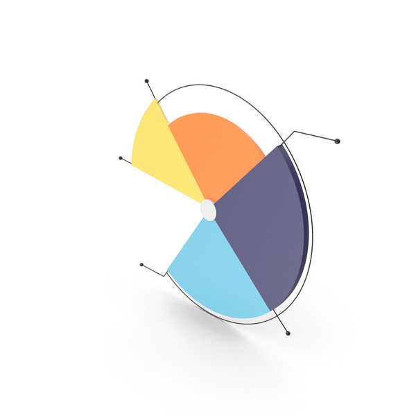 Pie Chart: Graph PNG & PSD Images