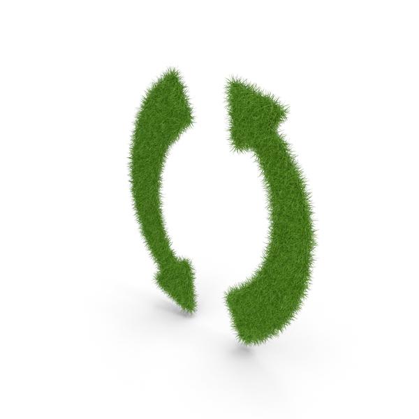 Grass Arrows Symbol PNG & PSD Images