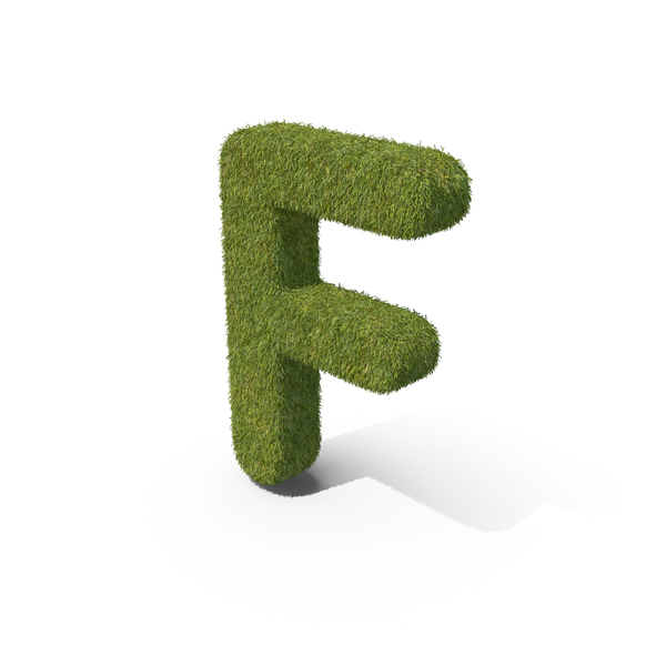 Grass Capital Letter F PNG & PSD Images