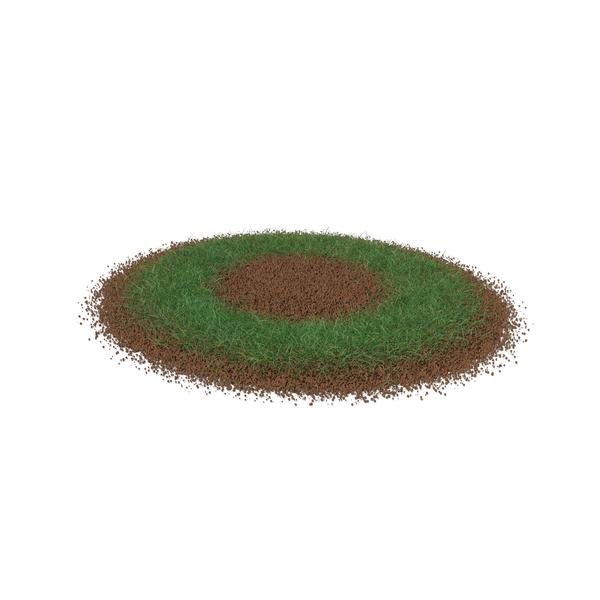 Grass & Dirt Shape PNG & PSD Images