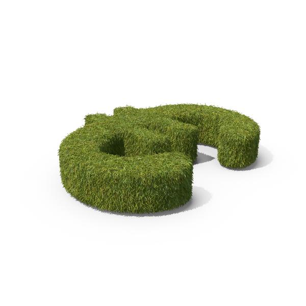 Grass Euro Symbol PNG & PSD Images