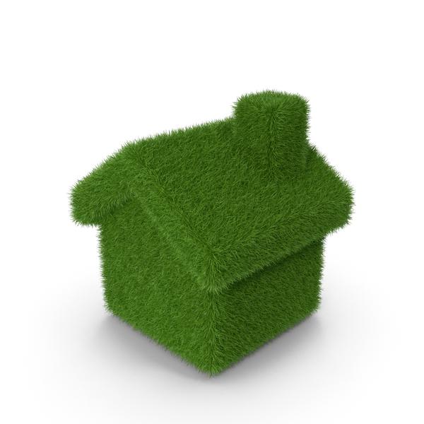 Grass Home Symbol PNG & PSD Images