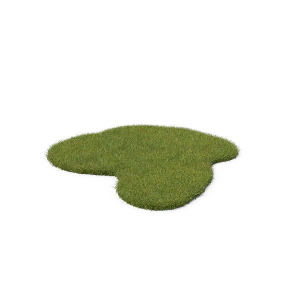 Grass Irregular Shape PNG & PSD Images