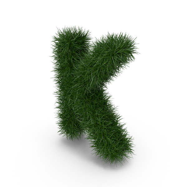 Grass Letter K PNG & PSD Images