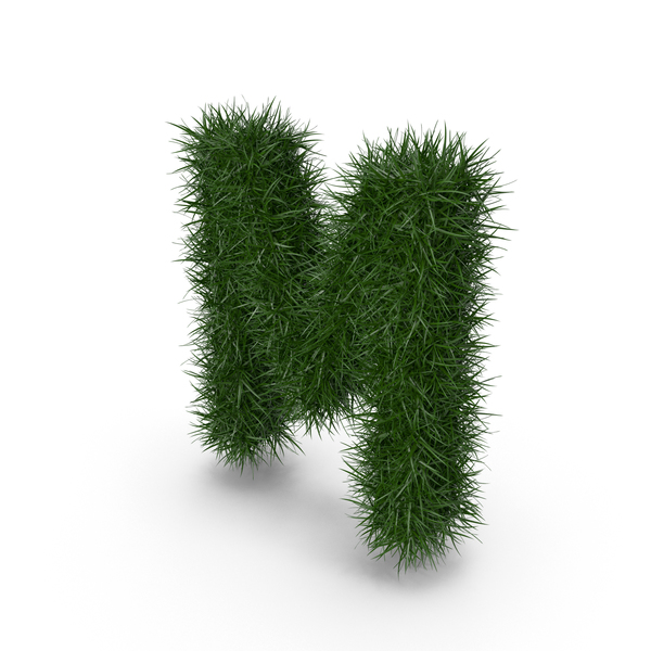 Grass Letter M PNG & PSD Images