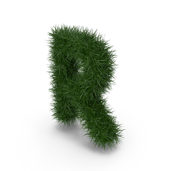 Grass Letter R PNG & PSD Images