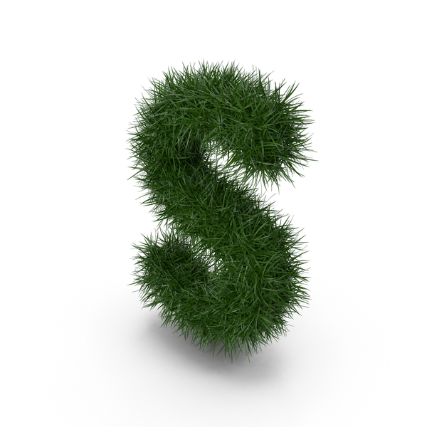 Language: Grass Letter S PNG & PSD Images