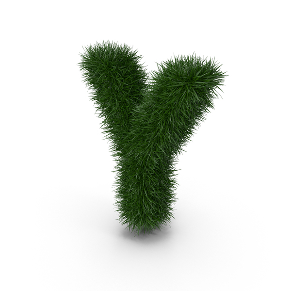 Grass Letter Y PNG & PSD Images