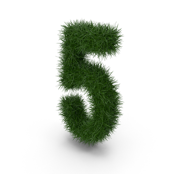 Grass Number 5 PNG & PSD Images