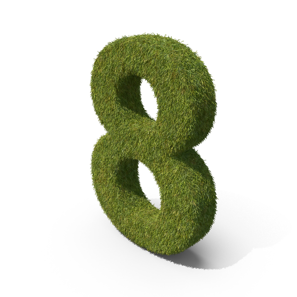 Grass Number 8 PNG & PSD Images