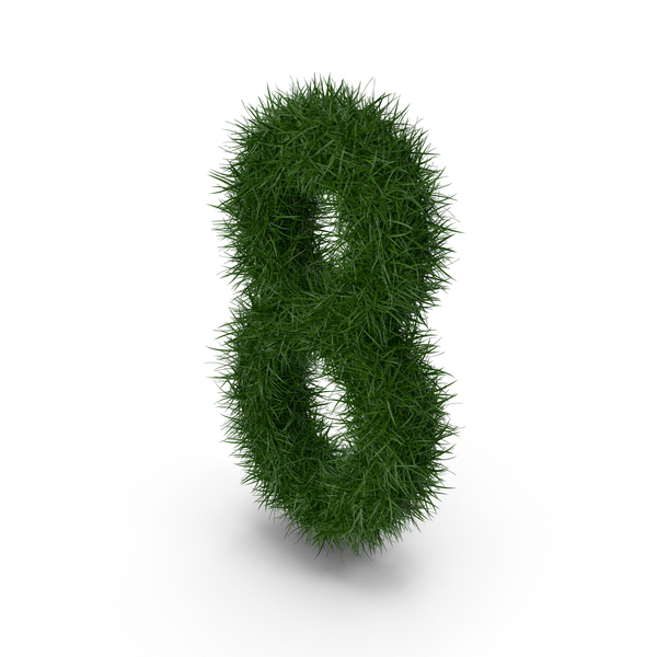 Grass Number Eight PNG & PSD Images