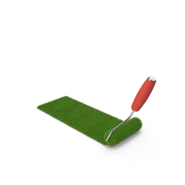 Grass Paint Roller PNG & PSD Images