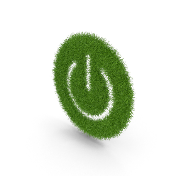 Grass Power Button On Off Symbol PNG & PSD Images