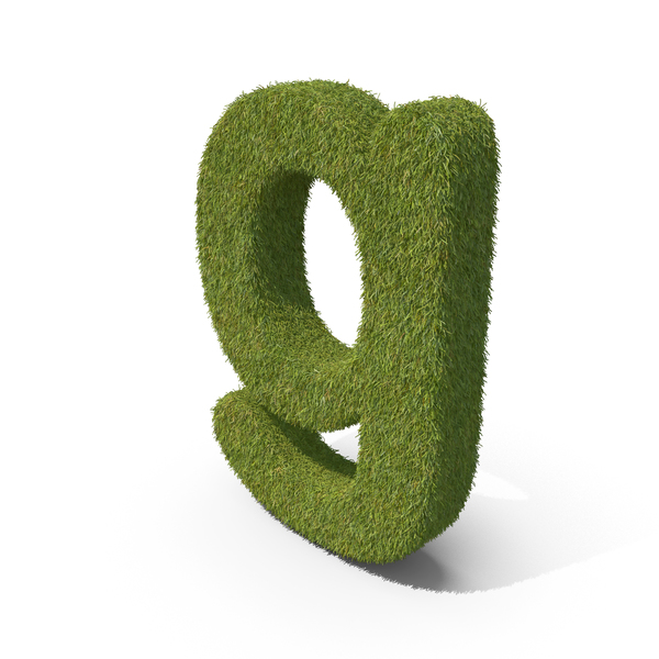 Grass Small letter G PNG & PSD Images