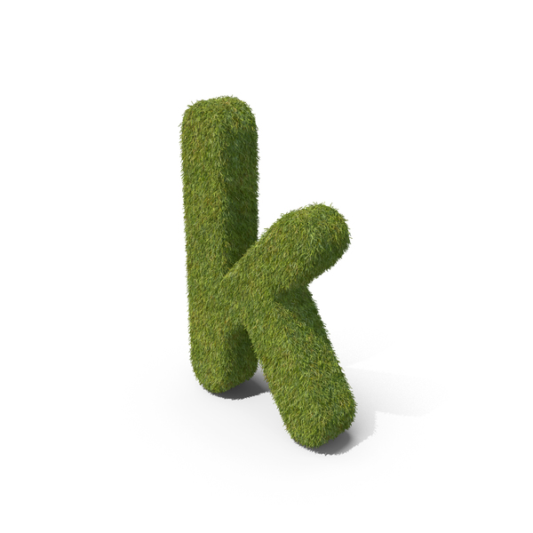 Language: Grass Small Letter K PNG & PSD Images